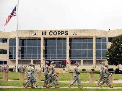 Unweit von Fort Hood im US-Bundesstaat Texas (Archivbild) ist ein Soldat unter Terrorverdacht festgenommen worden.