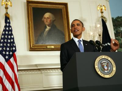 US-Präsident Barack Obama im Weißen Haus: «Die Zeit für einen Kompromiss ist jetzt gekommen.»