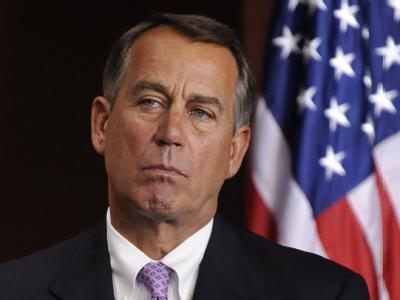 Dem Republikaner John Boehner sitzt im US-Schuldenstreit die Tea Party im Nacken. (Archivbild)