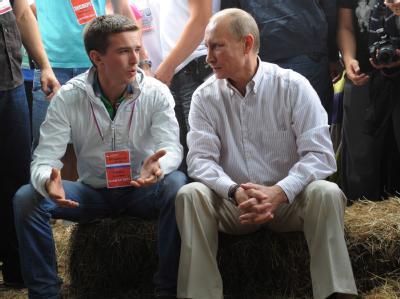 Putin und die Jugend