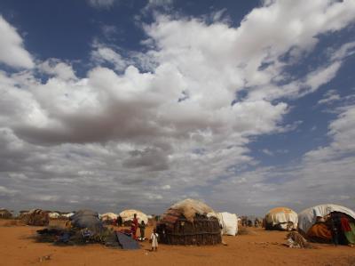 Ein Lager somalischer Flüchtlinge im Nordosten Kenias.