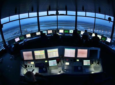 Tower Flughafen D�sseldorf