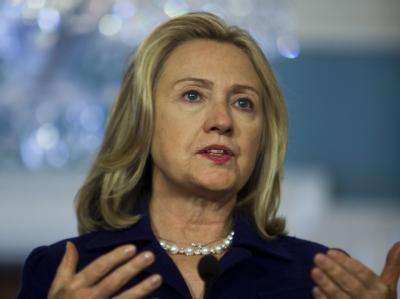 US-Außenministerin Hillary Clinton. Foto: Jim Lo Scalzo