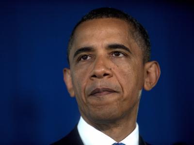 US-Präsident Barack Obama am Freitag während einer Rede in Washington, DC.