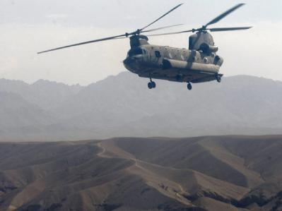 Beim Absturz eines Hubschraubers über Afghanistan haben 31 US-Soldaten ihr Leben verloren. (Symbolbild)