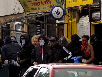 Auch in den Stadtteilen Clapham, Peckham, Hackney, Ealing und Lewisham gab es am Montag Krawalle.