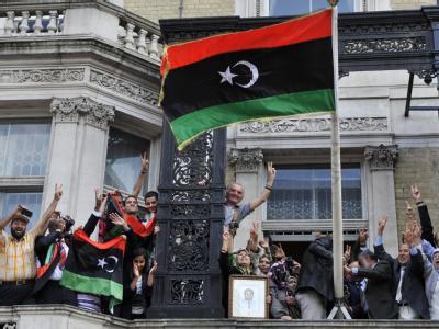 Regime-Gegner: Die Rebellen hatten wiederholt den Tod von Gaddafi-Sohn Chamis verkündet.