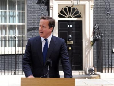 David Cameron will hart durchgreifen.