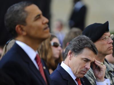 Barack Obama und Rick Perry