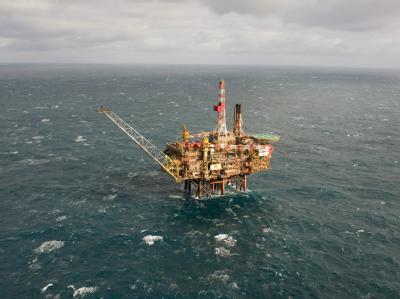 Aus dem Leck an einer Förderplattform des Konzerns Shell in der zentralen Nordsee läuft Öl aus. Wie viel teilte das Unternehmen nicht mit.