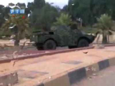 Syrische Truppen sind in die nördliche Hafenstadt Latakia eingerückt. (Bild: Al Arabiya/epa)