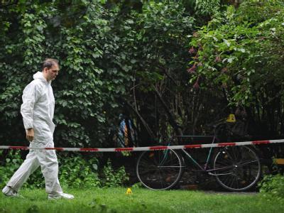 Der Ort der Explosion im Berliner Schillerpark.
