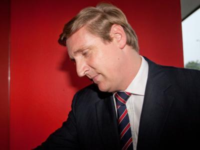 Christian von Boetticher kommt am Sonntag in die Geschäftstelle der Partei in Kiel.