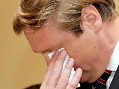 Ende eines Shootingstars: Christian von Boetticher nach Bekanntgabe seines Rücktritts.