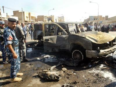 Bombenschlag im Irak