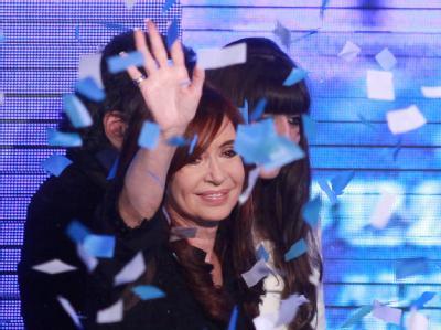 Cristina Kirchner hat gute Chancen, Präsidentin in Argentinien zu bleiben.