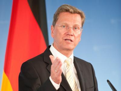 Spricht sich für eine Konsolidierung der Haushalte aus: Außenminister Guido Westerwelle (FDP).