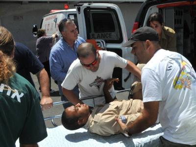 Verletzter israelischer Soldat