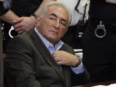 Der frühere IWF-Chef Dominique Strauss-Kahn im Mai vor dem New York State Supreme Court.