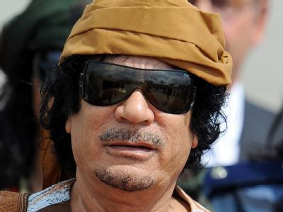 Gaddafi soll über Goldreserven in Milliardenhöhe verfügen.