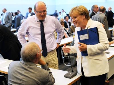 CDU/CSU-Bundestagsfraktion berät über Euro-Krise