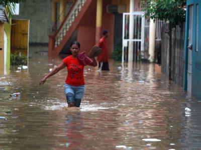 Etwa 90 Gemeinden wurden in der Dominikanischen Republik von der Außenwelt abgeschnitten.