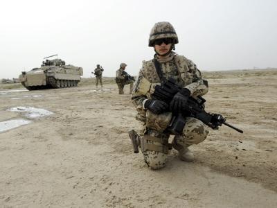 Bundeswehrsoldaten nahe Kundus: Seit 2002 ist die Bundeswehr in Afghanistan.