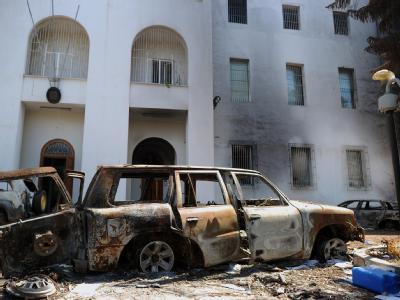 Italienische Botschaft in Tripolis