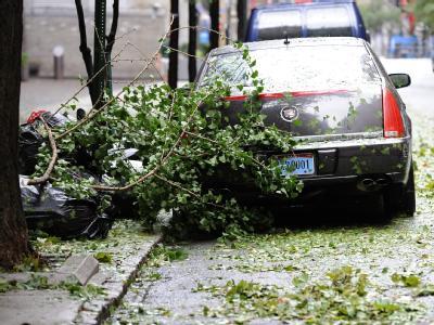 Die Aufräumarbeiten nach dem Hurrikan werden sich noch wochenlang hinziehen.