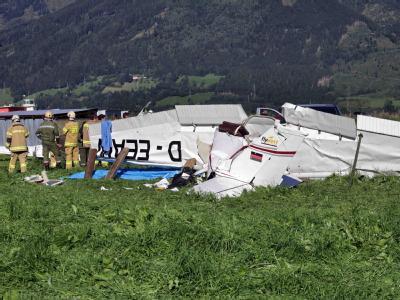 Drei Tote bei Flugzeug-Kollision in Österreich
