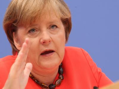 Angela Merkel (CDU) setzt nach der herben Wahlschlappe auf entschiedenes Handeln. (Archivbild)