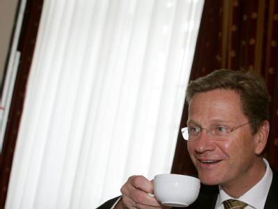 Außenminister Guido Westerwelle bei der Klausurtagung der FDP-Bundestagsfraktion.