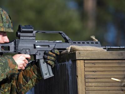Libysche Rebellen haben nach Medienberichten G36-Sturmgewehre aus Deutschland erbeutet.