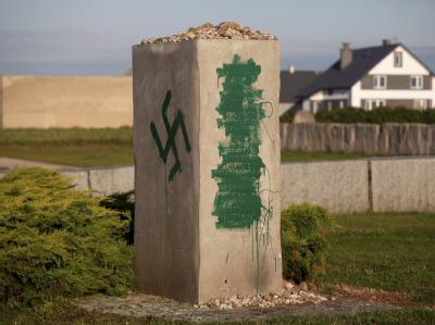 In Jedwabne war es im Juli 1941 nach dem deutschen Einmarsch zu einem Juden-Pogrom gekommen. Nun wurde das Denkmal in der ostpolnischen Stadt geschändet.