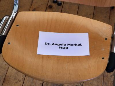 Merkel sagt wegen Trauerfall Termine ab