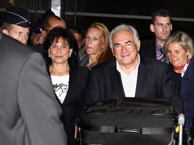 DSK zurück in Frankreich