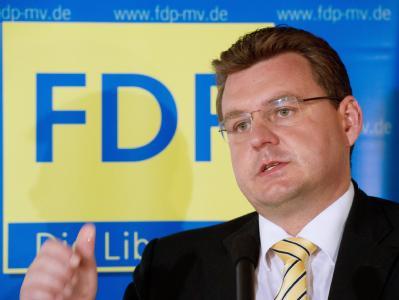 Gino Leonhard, Spitzenkandidat der FDP in Mecklenburg-Vorpommern, konnte mit seiner Partei nicht punkten.