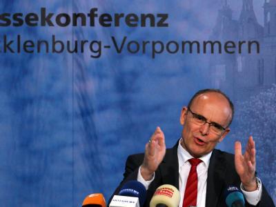 Der Ministerpräsident in Mecklenburg-Vorpommern, Erwin Sellering, ist bereit für die Sondierungsgespräche.
