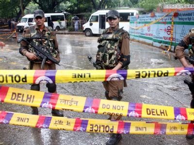 Eine schwere Explosion hat die indische Hauptstadt erschüttert.
