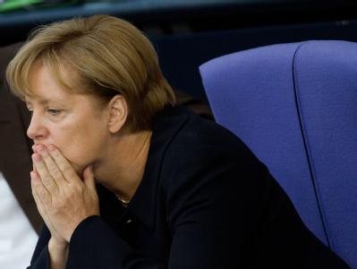 Die deutsche Bundeskanzlerin sieht im Terrorismus eine latente Gefahr.