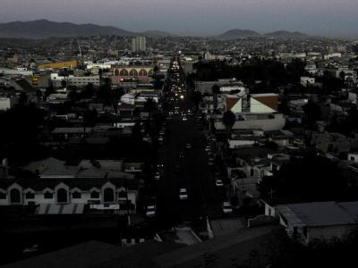 Stromausfall in Tijuana im Nordwesten von Mexiko.