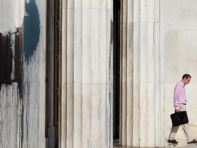 Die Bank of Greece in Athen: Ein Ausschluss Griechenlands aus dem Euro wird in den Union diskutiert.