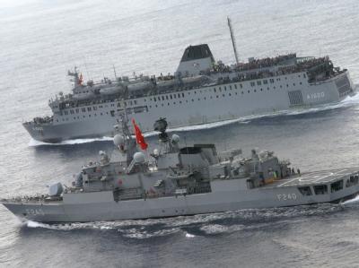 T�rkische Kriegsschiffe sollen Gaza-Hilfe sichern