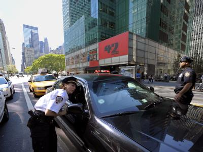 Kontrolle in New York