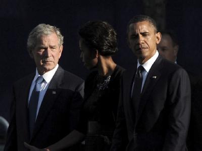 Obama und Bush