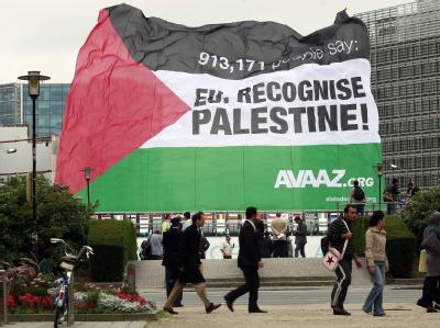 Berlin h�lt sich Entscheidung �ber Pal�stinenserstaat offen