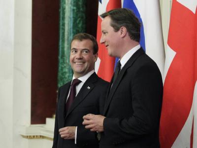 Medwedew und Cameron