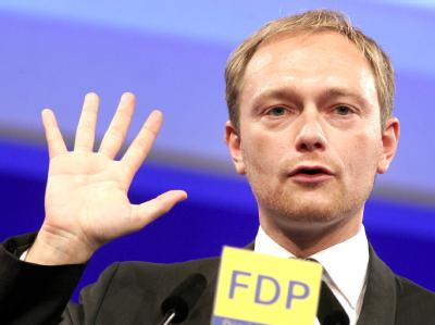 FDP-Generalsekretär Christian Lindner will kein Griechenland-«Schweigegelübde» ablegen. (Archivbild)