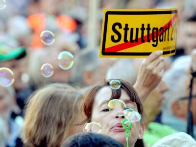 Stuttgart 21 Gegner