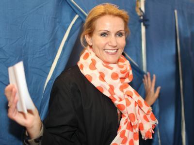 Wahlsiegerin: Die Sozialdemokratin Helle Thorning-Schmidt.